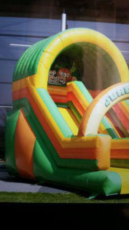 Noleggio gonfiabili feste compleanno bambini e eventi como