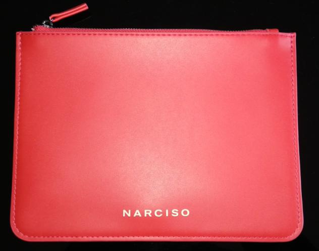 Pochette narciso colore rosso