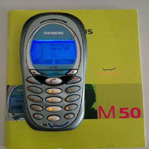 Siemens m50 completo di manuale e scatolo, carica batteria