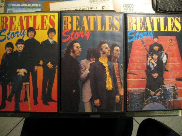 Vhs originali la storia dei beatles