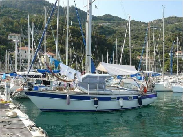 Barca a velahallberg rassy sweden 312 mki anno1984 lunghezza