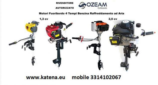 Motori fuoribordo nautica da 1.3 hp a 5.5 hp