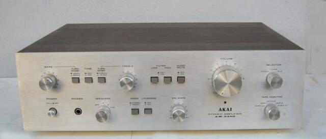 Amplificatore stereo vintage