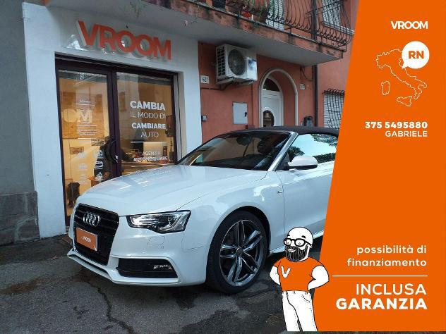 Audi a5 cabrio 2.0 tdi 177 cv multitronic business plus