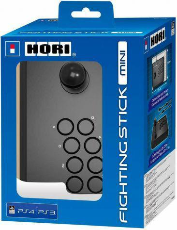 Controller arcade fighting stick mini per playstation 4 e 3