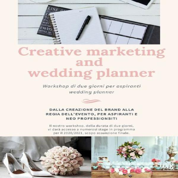 Corso wedding planner and creative marketing