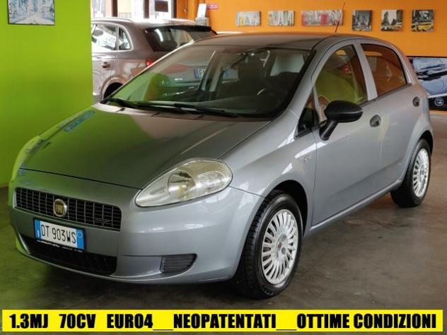 Fiat grande punto 1.3 mjt 75 cv 5p active rif. 12696870