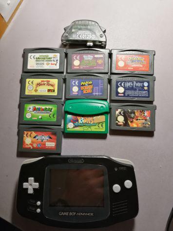 Gameboy advance con tanti giochi