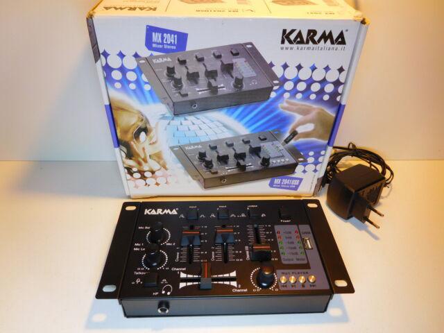 Mixer audio stereo usb karma 2041