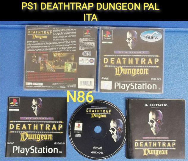 Ps1 deathtrap dungeon pal ita