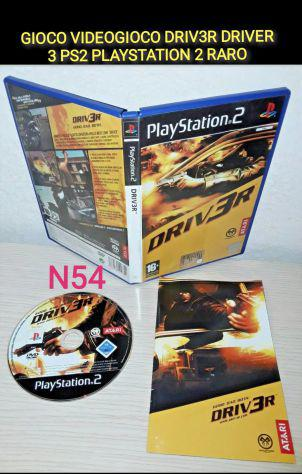 Ps2 driver 3 playstation 2 raro