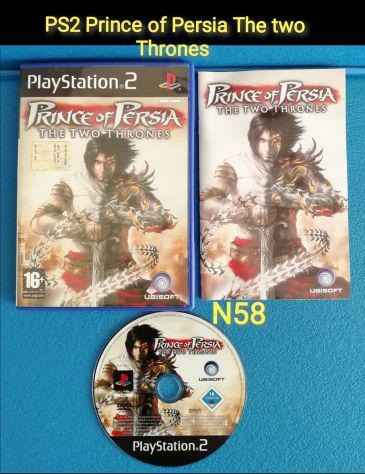 Ps2 prince of persia the two thrones versione italiano