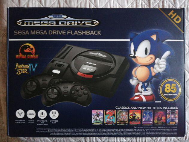 Sega mega drive flashback con 85 giochi