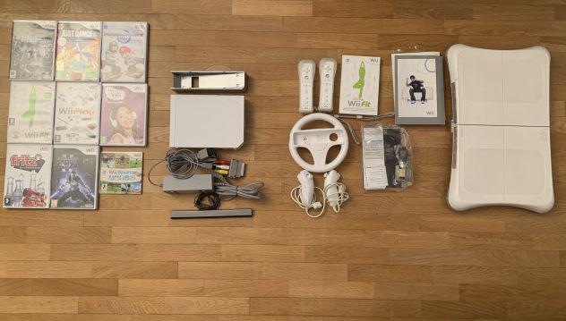 Wii + wii balance, telecomandi e giochi