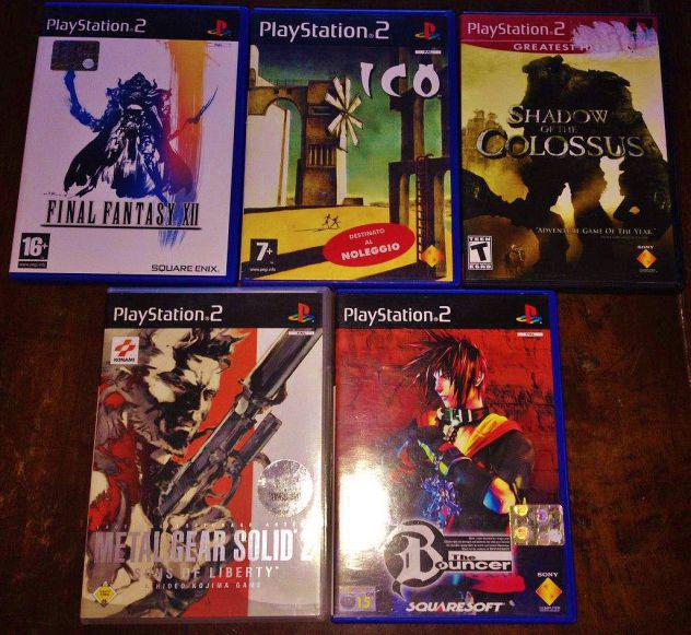 Lotto ps2 final fantasy the bouncer ico shadow of the