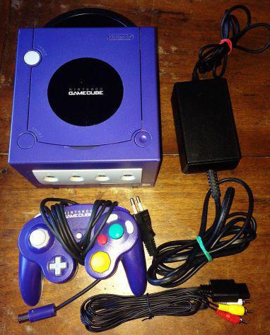 Retro console nintendo gamecube funzionante + controller