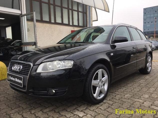 Audi a4 2.0 16v tdi avant multitronic sport rif. 12704113