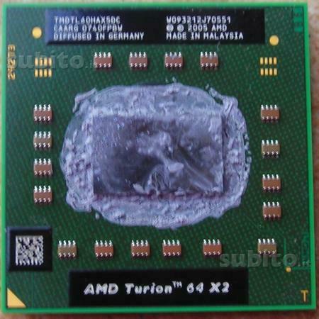 Processori cpu per notebook e desktop