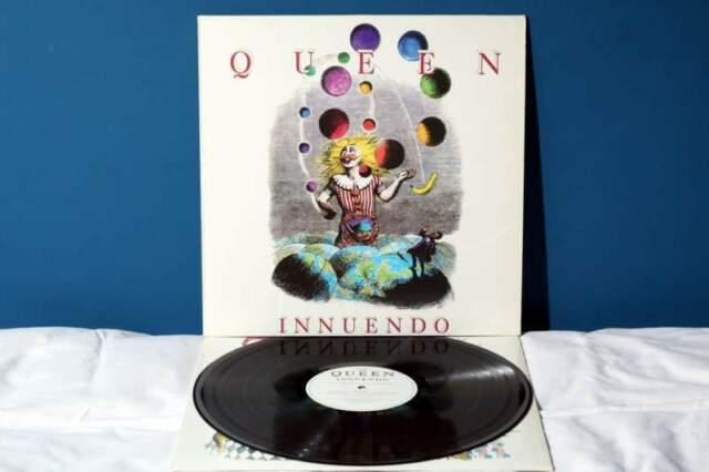 Queen innuendo lp vinile *ex/ex-* 1991 raro