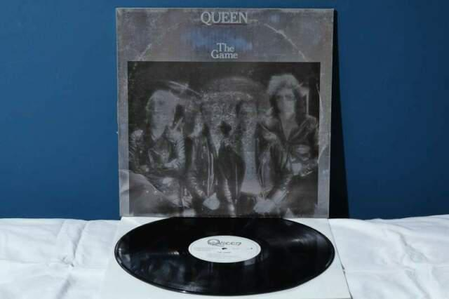 Queen the game lp vinile *ex-/ex* (1980 foil sleeve) raro