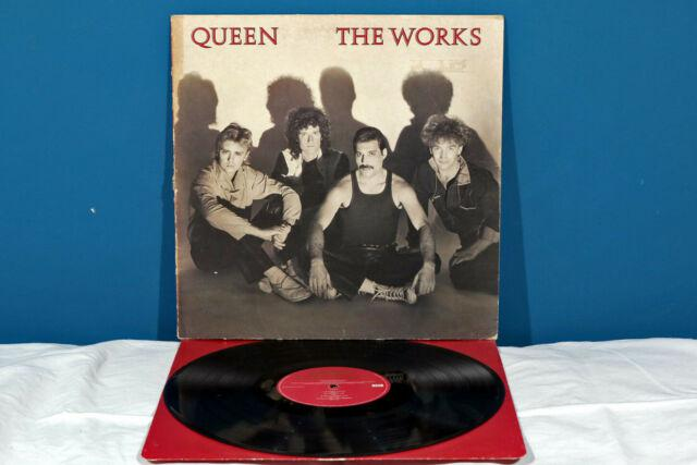 Queen the works lp vinile *ex-/ex-* 1984 uk raro