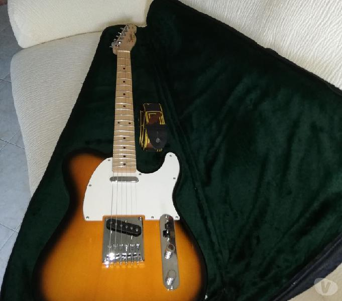 2 chitarre telecaster squire +fender 25r +pedalini