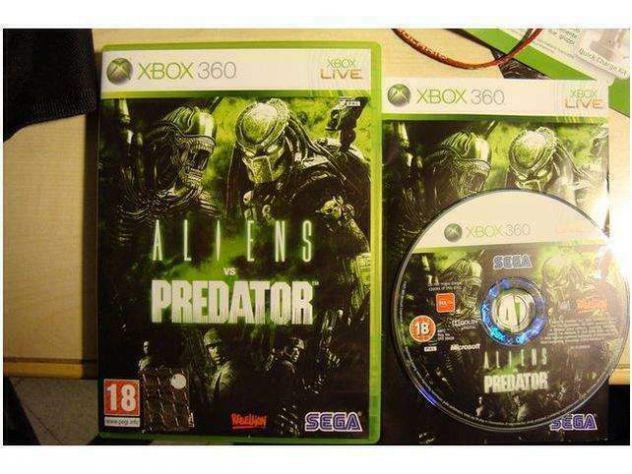 Aliens vs Predator xbox 360 originale