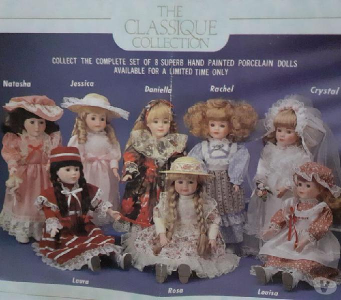 Nr. 8 bambole in ceramica,