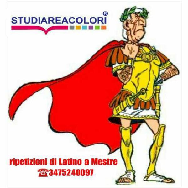 Ripetizioni di latino a mestre