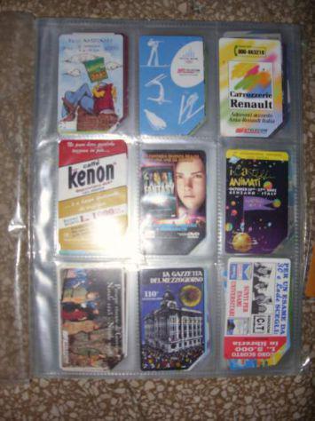 Schede telefoniche collezione anni '90 rare