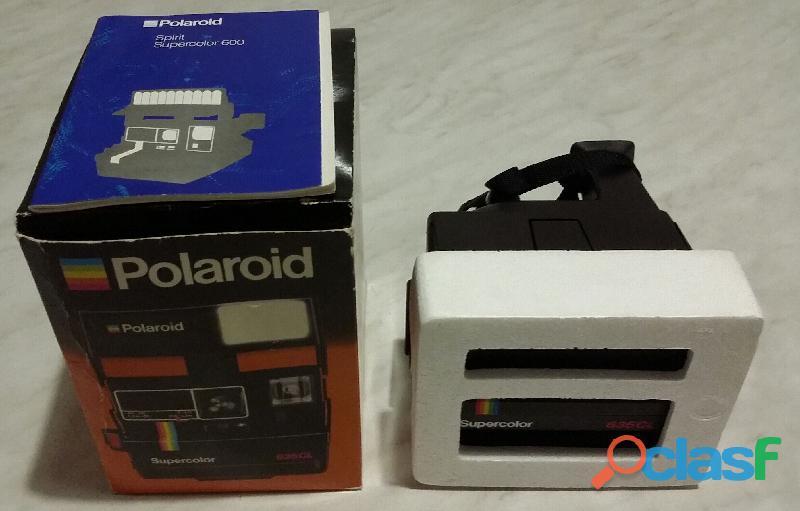 Storica Polaroid Supercolor 635CL testata nuova con scatola e libretto anno 1984