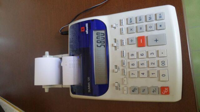 Calcolatrice elettronica olivetti summa 120