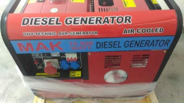 Gruppo elettrogeno generatore di corrente 10 kw diesel