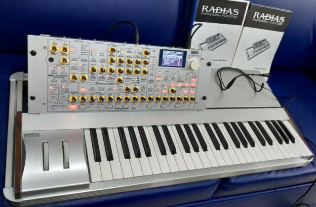 Korg radias keyboard + custodia, imballo, manuali, microfono