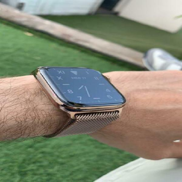 Apple watch 4 acciaio gold 44mm gps + cellular