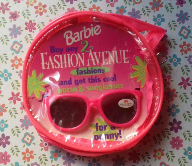Barbie fashion avenue occhiali e borsetta gadget promo nuovo