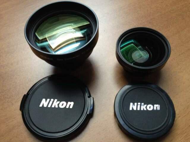 Due obiettivi per nikon coolpix 950