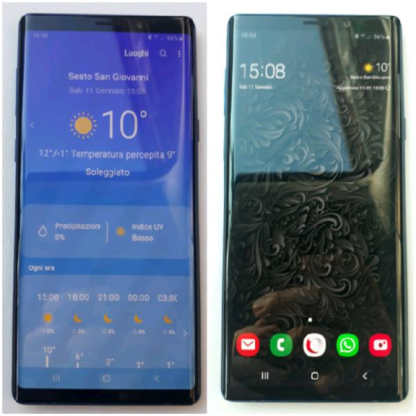 Galaxy note 9 blu dual sim 512 gb