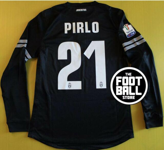 Maglia juventus pirlo tim cup 3rd 2013-14 match worn issued