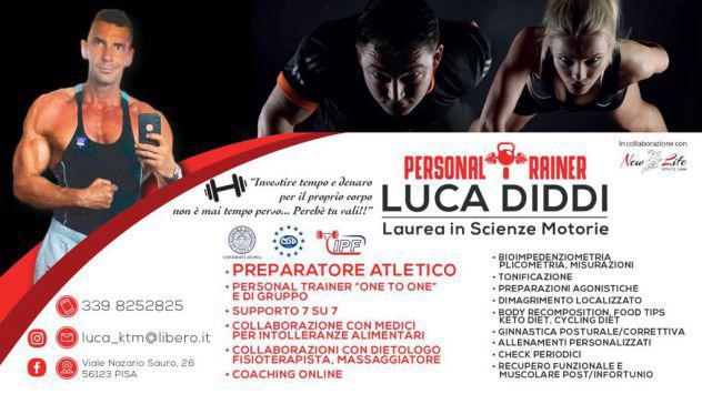 Personal trainer - preparatore atletico - istruttore pisa -