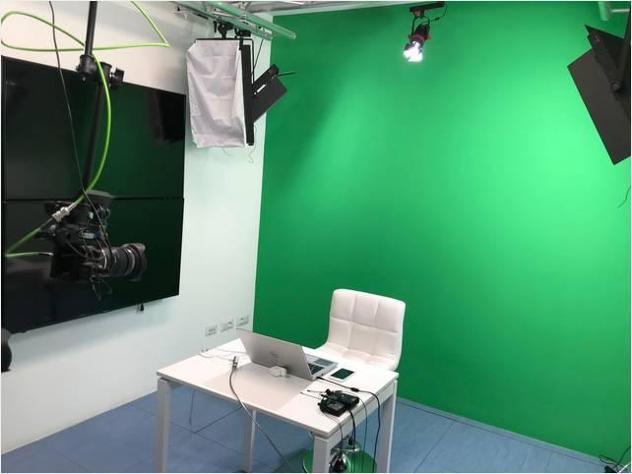 Sala di registrazione per video/dirette streaming nuovo