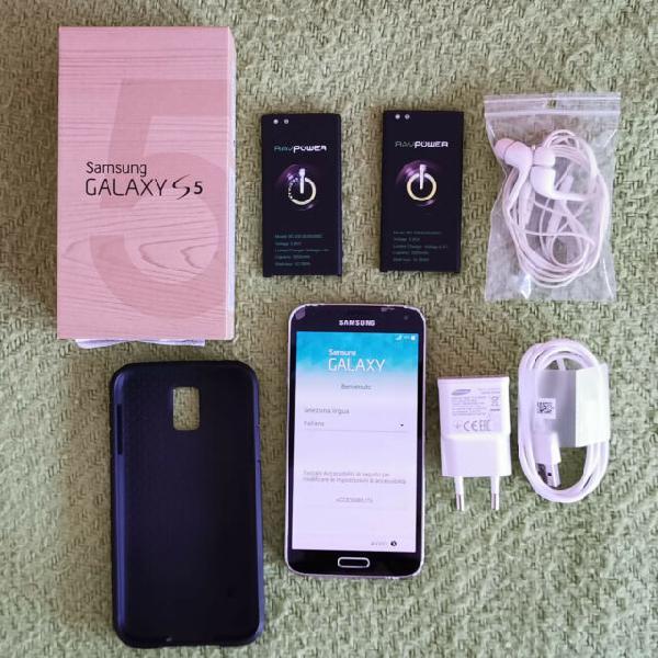 Smartphone samsung s5 nero