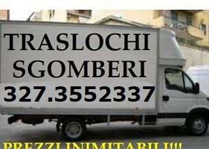 Traslochi economici roma trasporti sgomberi 7gg su7