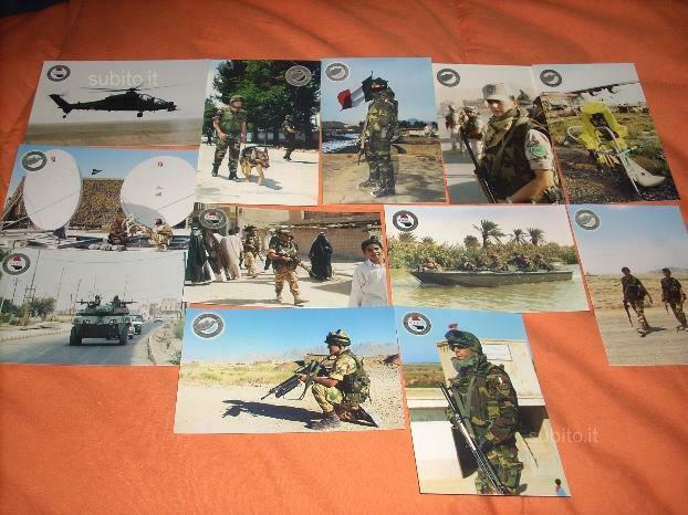 Cartoline missioni militari
