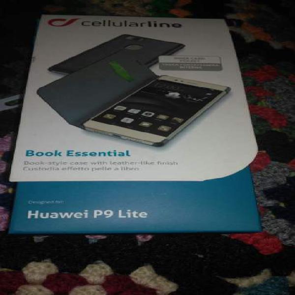 Cellular Line Huawei P9 Lite custodia effetto pelle a libro