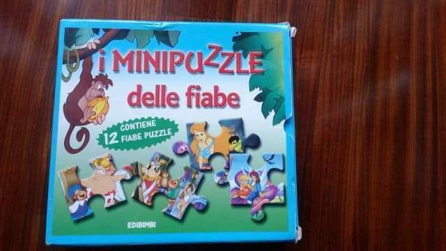 Gioco i mini puzzle delle fiabe