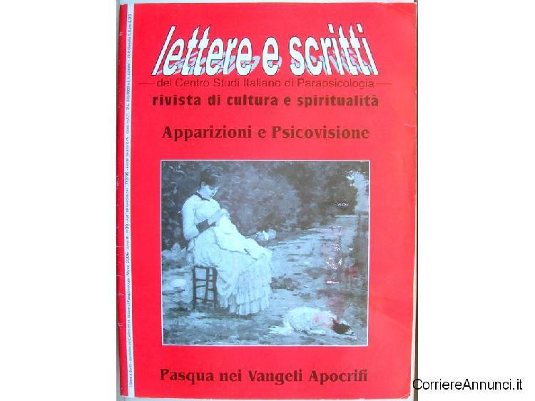 Lettere e scritti parapsicologia cultura