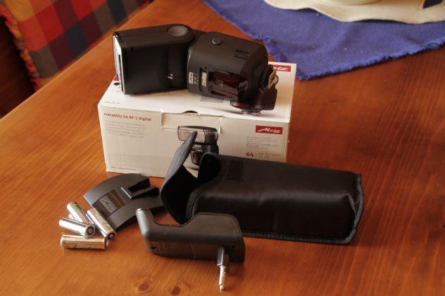 vendo flash Metz 64AF-1 ETTL/ETTLHSS per Canon