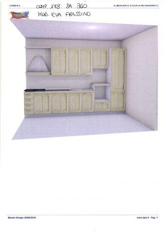 Cucina componibile da stock comp. 178 da 360