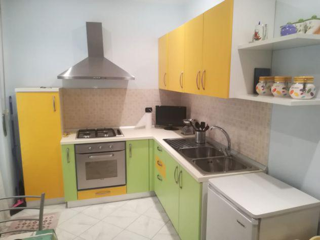 Cucina completa angolare 250x225 con elettrodomestici